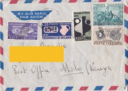 Aerogramma Diretto In Kenia Da Torino - 1951 - 6. 1946-.. Repubblica