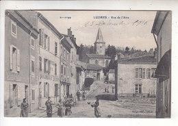 SP- 54 - LUDRES - Rue De L'Atre - Femmes - Enfants - Poule - Eglise - - France