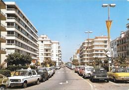 66 Canet Plage Avenue De La Méditerranée Avec Automobiles (2 Scans) - Canet Plage