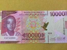 GUINEA NLP 10.000 Francs 2018 Issued 2019 UNC - Guinea
