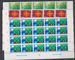 Switzerland 1980 Commemoratives 3v  20x ** Mnh (F7749) - Ongebruikt