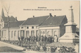 Postkaart CPA Steendorp - Temse. Standbeeld Der Slachtoffers Van Den Oorlog 1914 - 1918 - Temse