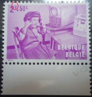"""1227 V12 Petite Griffe à La Gauche Du """"F"""" De """"2 F"""" Sans Charnière - Abarten Und Kuriositäten"""