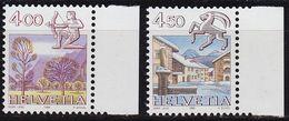 SCHWEIZ SWITZERLAND [1984] MiNr 1265-66 ( **/mnh ) Tierkreis - Nuovi