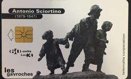 Paco \ MALTA \ MT-MLT-0051A \ Antonio Sciortino Les Gavroches \ Usata - Malta