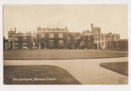 AK27 The Courtyard, Warwick Castle - Warwick
