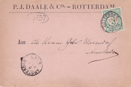 Netherlands 1996 P.J.Daale & Co Amsterdam Postcard - Postal Stationery