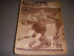 MIROIR SPRINT 614 10.03.1958 RUGBY FRANCE AUSTRALIE FOOT SETE MONACO - Sport