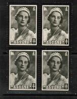 BELGIUM  Scott # B 170** VF MINT NH BLOCK Of 4 (Stamp Scan # 496) - Belgium