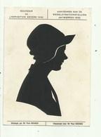 Antwerpen Aandenken Aan De Wereldtentoonstelling 1930 - Silhouettes