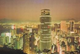 AM08 Wanchai At Night Showing The Hopewell Centre - China (Hong Kong)