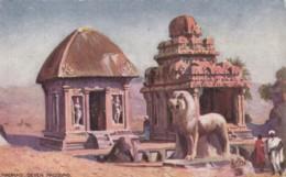 AM08 Madras, Seven Pagodas - Tuck Oilette - India
