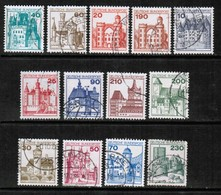 GERMANY  Scott # 1231-42 VF USED (Stamp Scan # 496) - [7] Federal Republic