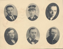 Wetteren 18/8/1944. Herinnering Aan 6 Politieke Gevangenen Gevallen Als Slachtoffer In Duitsche Folterkampen. - 1939-45