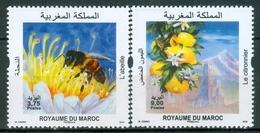 MOROCCO MAROKKO MAROC 2019 LE CITRONNIER ET L'ABEILLE EMISSION 16-04-2019 - Morocco (1956-...)