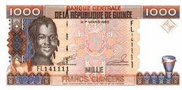 6054 -2019     BILLET BANQUE    GUINEE - Guinée