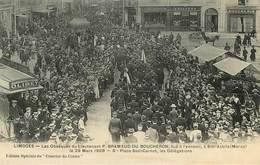 Dép 87 - Limoges - Les Obsèques Du Lieutenant P. Bramaud Du Boucheron Tué à L'ennemi à Sidi Accila Maroc Le 29 Mars 1908 - Limoges