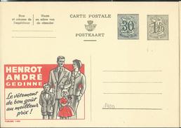 Publibel Neuve N° 1400 A ( HENROT André - Gedinne, Vêtement De Bon Goût Au Meilleur Prix) - Enteros Postales