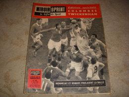 MIROIR SPRINT 665 03.03.1959 SPECIAL RUGBY FRANCE ANGLETERRE BASKET ROANNE - Sport