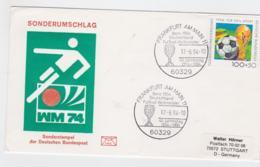 Germany Cover 1994 Frankfurt Am Main Bern 1954 Deutschland Fussball Welt Meister (DD7-38) - 1954 – Zwitserland