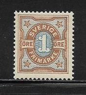 SUEDE  ( EUSU - 3 )  1892  N° YVERT ET TELLIER  N° 51   N** - Neufs