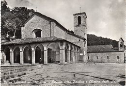 Arezzo - Verna - Esterno Della Basilica E Chiesina Degli Angeli - Fg Vg - Arezzo