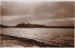 AS42 Sunset, Peel, I.o.M - RPPC - Isle Of Man