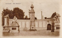 AS42 Portsmouth, War Memorial - RPPC - Portsmouth