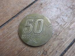 Médaille En Bronze 50 Ans ASPPT - Obj. 'Souvenir De'