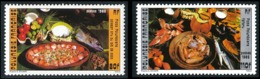 POLYNESIE 1986 - Yv. 261 Et 262 **   Faciale= 1,60 EUR - Plats Polyn. Poisson Et Fafaru (2 Val.)  ..Réf.POL23952 - Polynésie Française
