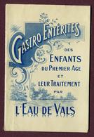 """L'EAU DE VALS : LIVRET De PHARMACIE """" - Advertising"""