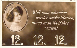 Germany PPC With 12. 12. 12. And Interesting Cancel Of The Back, 5 X 12 - Other
