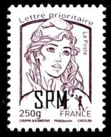 ST-PIERRE ET MIQUELON 2014 - Yv. 1102 ** SUP - Marianne 250g  Surch SPM  ..Réf.SPM11482 - St.Pierre & Miquelon
