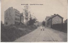 Marloie - Quartier De La Gare - Animé - Edit. L. Duparque, Florenville - Marche-en-Famenne