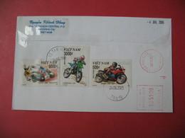 Enveloppe   Moto  Viêtnam   2005 - Motos
