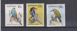 Australien Michel Cat. No.    Mnh/**  705/707 - 1980-89 Elizabeth II