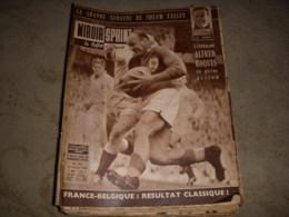 MIROIR SPRINT 717 29.02.1960 RUGBY XIII ALBI FOOT FRANCE BELGIQ JO SQUAW VALLEY - Sport
