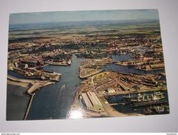 Refboite84    - -(achat Direct)  Dunkerque Le Port  Vue Aérienne  1974 - Dunkerque