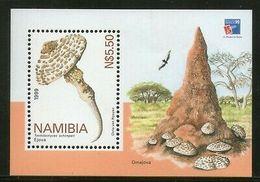 Namibia 1999 Mushrooms Fungi Plant M/s Sc 940 MNH # 186 - Namibia (1990- ...)