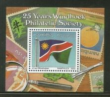Namibia 2003 Windhoek Philatelic Society Flag Stamps On M/s Sc 1023 MNH # 506 - Namibia (1990- ...)