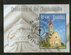 Namibia 2010 Church Christianity Architecture M/s Sc 1193 FD Cancelled # 1021 - Namibia (1990- ...)