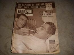 MIROIR SPRINT 738 25.07.1960 CYCLISME GEMINIANI RIVIERE ATHLE Michel BERNARD - Sport