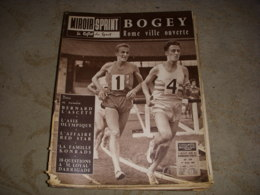 MIROIR SPRINT 739 01.08.1960 ATHLETISME BOGEY NATATION KONRADS FOOT RED STAR - Sport