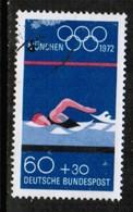 GERMANY  Scott # B 488 VF USED (Stamp Scan # 496) - [7] Federal Republic
