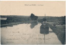 D02 - VAILLY SUR AISNE - Le Canal, Péniche - Altri Comuni