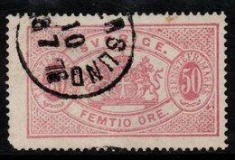 R359. SWEDEN 1874-1877 - SC#: O10 - USED - OFFICIAL STAMP - SCV: US$ 90.00 ++ - Service