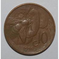 ITALIE - KM 60 - 10 CENTESIMI 1936 R - VICTOR EMMANUEL III - TTB - 1900-1946 : Victor Emmanuel III & Umberto II