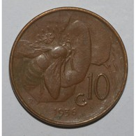 ITALIE - KM 60 - 10 CENTESIMI 1936 R - VICTOR EMMANUEL III - TTB - 1861-1946 : Regno