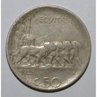 ITALY - 50 CENTESIMI 1925 R - TRES TRES BEAU - - 1900-1946 : Victor Emmanuel III & Umberto II