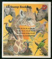 Namibia 1997 Fauna & Flowers Wildlife Animals Birds Parrot Sc 870a Booklet #7881 - Namibia (1990- ...)